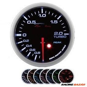 DEPO RACING SKPK 52mm - Turbónyomásmérő óra (Elektromos, -1 - 2 BAR)
