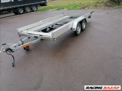 Autószállító trailer bérelhető, kölcsönözhető