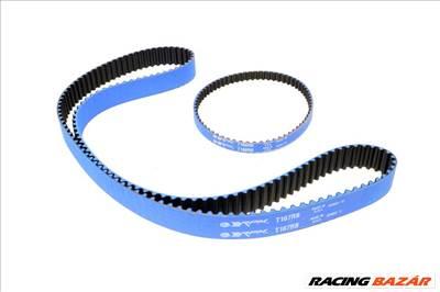 Gates Racing Blue Mitsubishi Lancer EVO / Eclipse / Galant VR4 (4G63) vezérműszíj (153 fog) és balansztengely szíj (65 fog) szett - T167RB