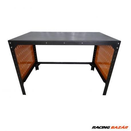 Lincos Fém műhelyasztal, 125x75cm, 2db perforált fallal M5-1207-04 1. kép