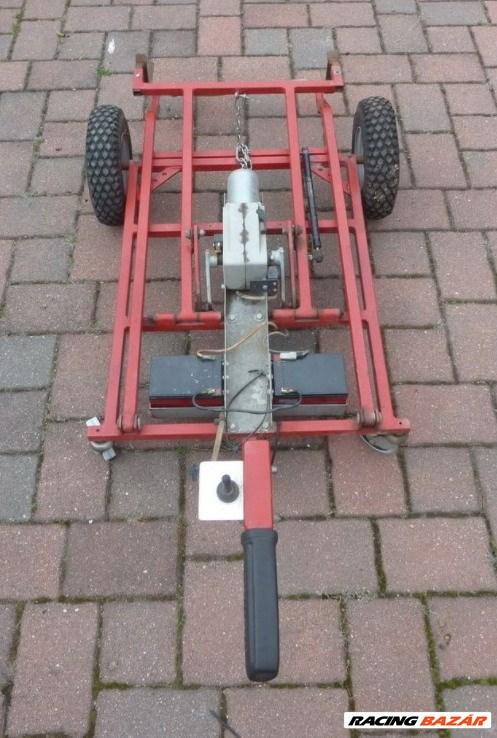 Elektromos gokartkocsi szereléshez, mozgatáshoz eladó. 6. kép