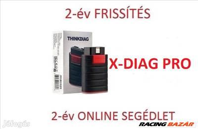 Launch Thinkdiag diagnosztika Autocom CDP+ Delphi DS 150 Würth WoW helyett