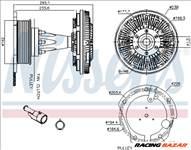 NISSENS 86128 Klíma/visco kuplung - TALBOT, RENAULT, AUDI, HONDA, CHEVROLET, CITROEN, DAEWOO