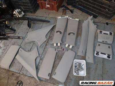 BMW E90 E91 szürke tetőkárpit alkatrészek oszloptakarók eladók