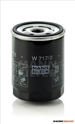 MANN-FILTER W 717/2 Olajszűrő - ALFA ROMEO, FIAT, LANCIA, FSO