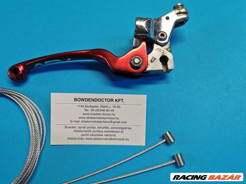 Motorkerékpár,Quad,Chopper bowden és spirál javítás,készítés,rövid határidővel! 1. kép