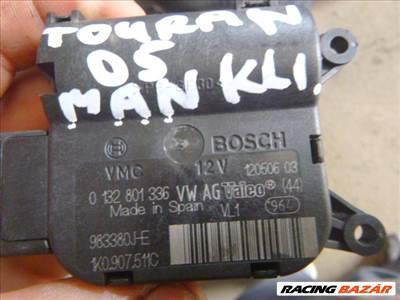 Volkswagen TOURAN,, GOLF 5 fűtéslapát állító motor  0 132 801 336