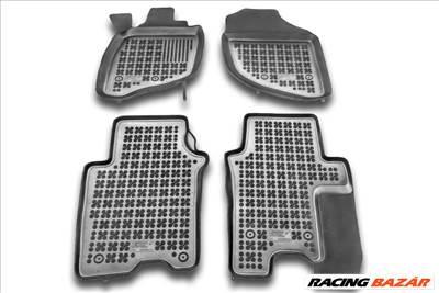 Honda City IV 2002-2008 Rezaw méretpontos gumiszőnyeg, Fekete, 200911