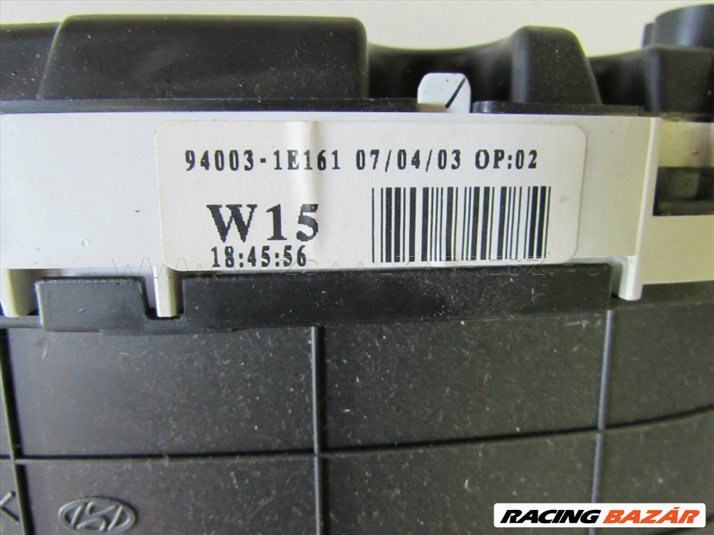 10371 kilométeróra óracsoport Hyundai Accent 1,4 benzin 940031E161 2. kép