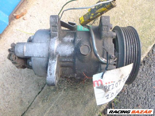 Peugeot 307 2,0 HDI klíma kompresszor SANDEN 1437 3. nagy kép