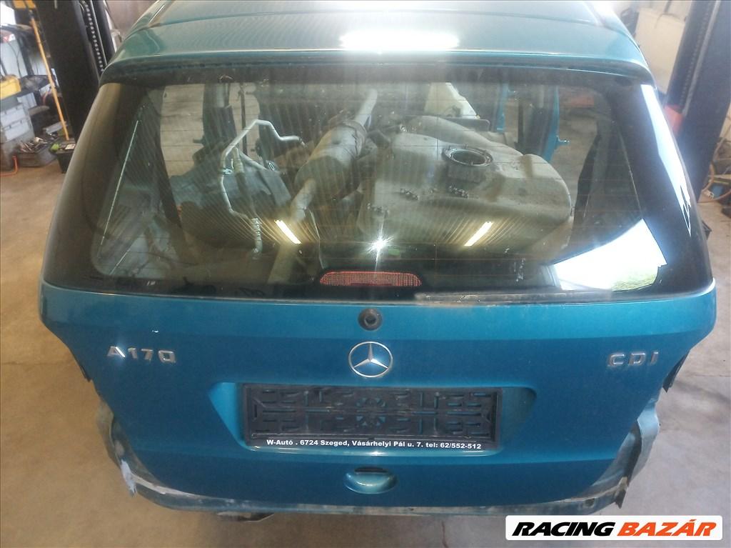 Mercedes A w168 facelift csomagtér ajtó, üresen 1. nagy kép