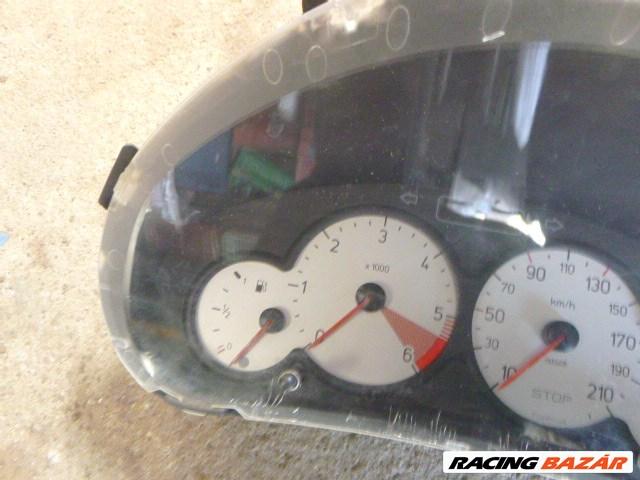 Peugeot 206 2000 1,6 HDI 1 CSATLAKOZÓS MŰSZERFALÓRA 9656696280 2. nagy kép