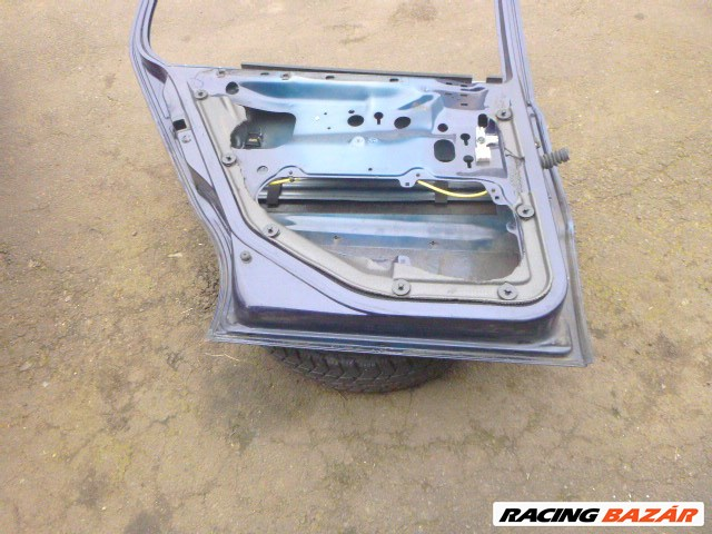 Volkswagen Polo 2000 6N2 KÉK BAL HÁTSÓ ajtó  3. nagy kép