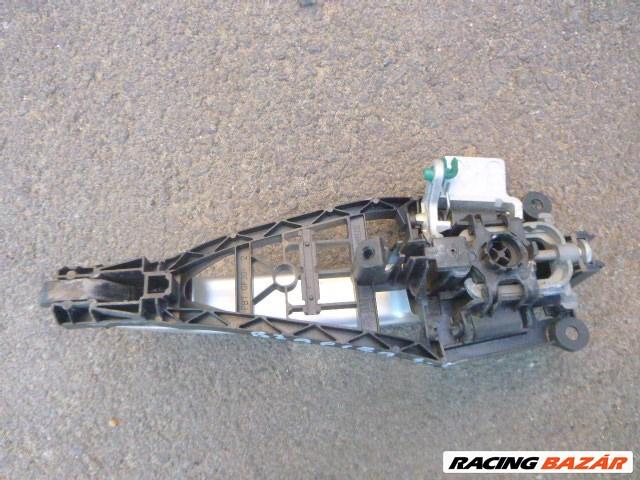 Opel Zafira B 2006 hátsó külső kilincs ezüst szín 1. nagy kép
