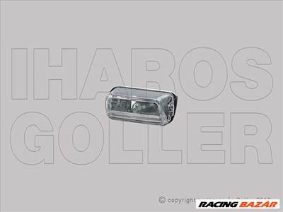 Peugeot Rifter 2018- - Rendszámtábla világítás