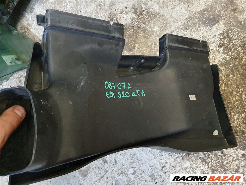 BMW E90 E91 318d 320d N47 motor légbeömlő levegő beömlő (087072) 13717798772 2. kép