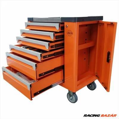 Lincos 245db-os szerszámos szekrény, szerszámokkal DK-12245