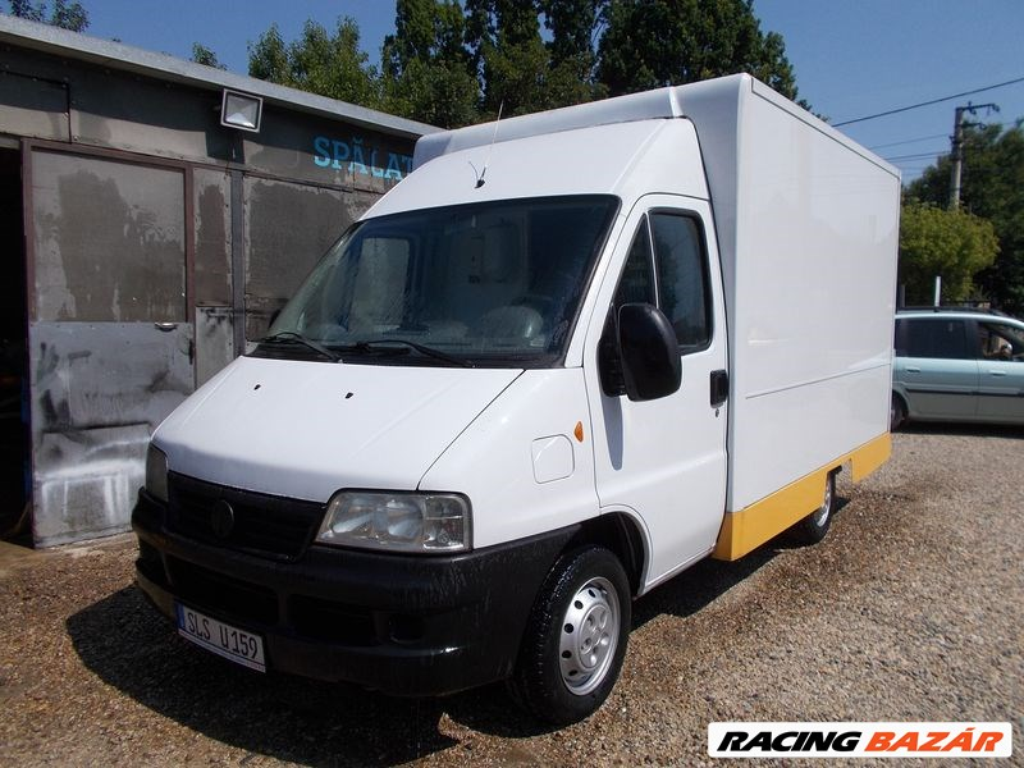 Büfékocsi büfé autó FIAT DUCATO kereskedelmi truck food fast food B jogosítvánnyal vezethető!  2. kép