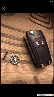 Opel astra j, meriva b, insignia, corsa új kulcsház