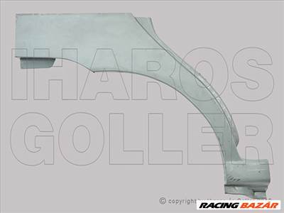 Fiat Palio 2005-2007 - Hátsó sárvédő javítóív jobb 4/5 ajtós+Kombi