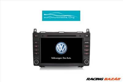 Volkswagen Crafter Android 10 Márkaspecifikus Multimédia GPS Rádió Tolatókamerával