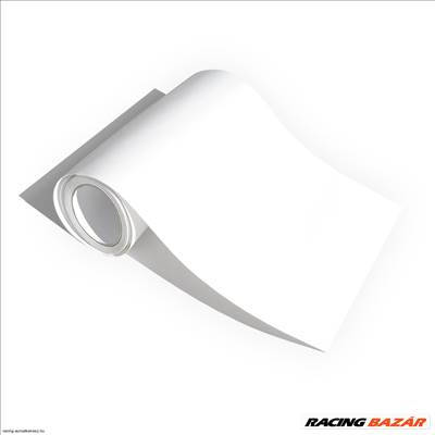Lámpa fólia 30×100cm matt fehér