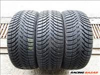 "3 db 195/45 R16"" Michelin Alpin A4 használt téli gumi"