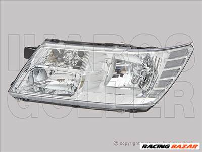 Dodge Journey 2008.06.01- Fényszóró H11/HB3 bal (motorral) TYC (1FZ6)