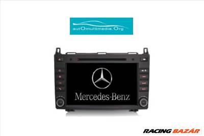 Mercedes Multimédia A Class W169, B Class W245, Vito, Sprinter, Viano, Tolatókamerával