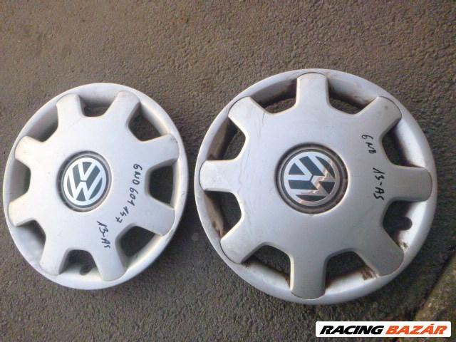 Volkswagen Polo III 6N 13AS GYÁRI Dísztárcsa 2DB 6N0 601 147 1. kép