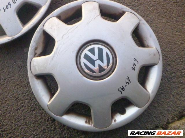 Volkswagen Polo III 6N 13AS GYÁRI Dísztárcsa 2DB 6N0 601 147 6. kép